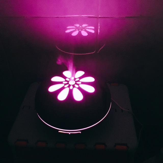 Máy khuếch tán tinh dầu cánh hoa lớn 500ml