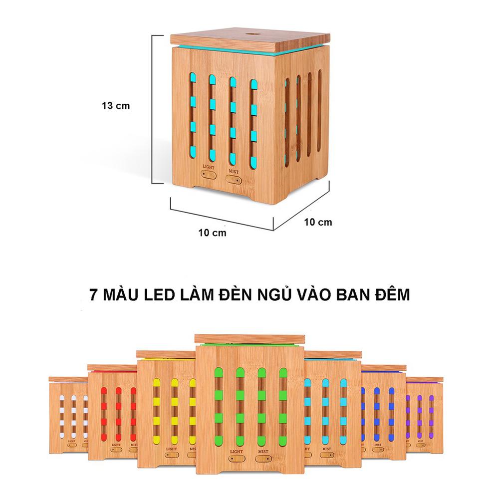 Máy khuếch tán tinh dầu gỗ tre cao cấp