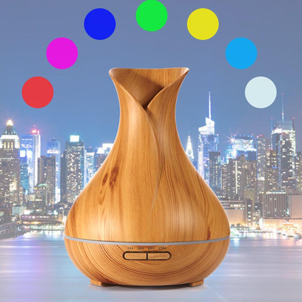 Máy khuếch tán Tulip tích hợp loa Bluetooth phát nhạc 550ml