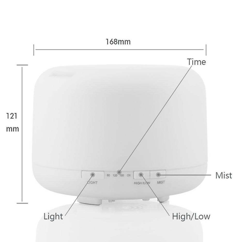 Máy khuếch tán tinh dầu trụ tròn 500ml